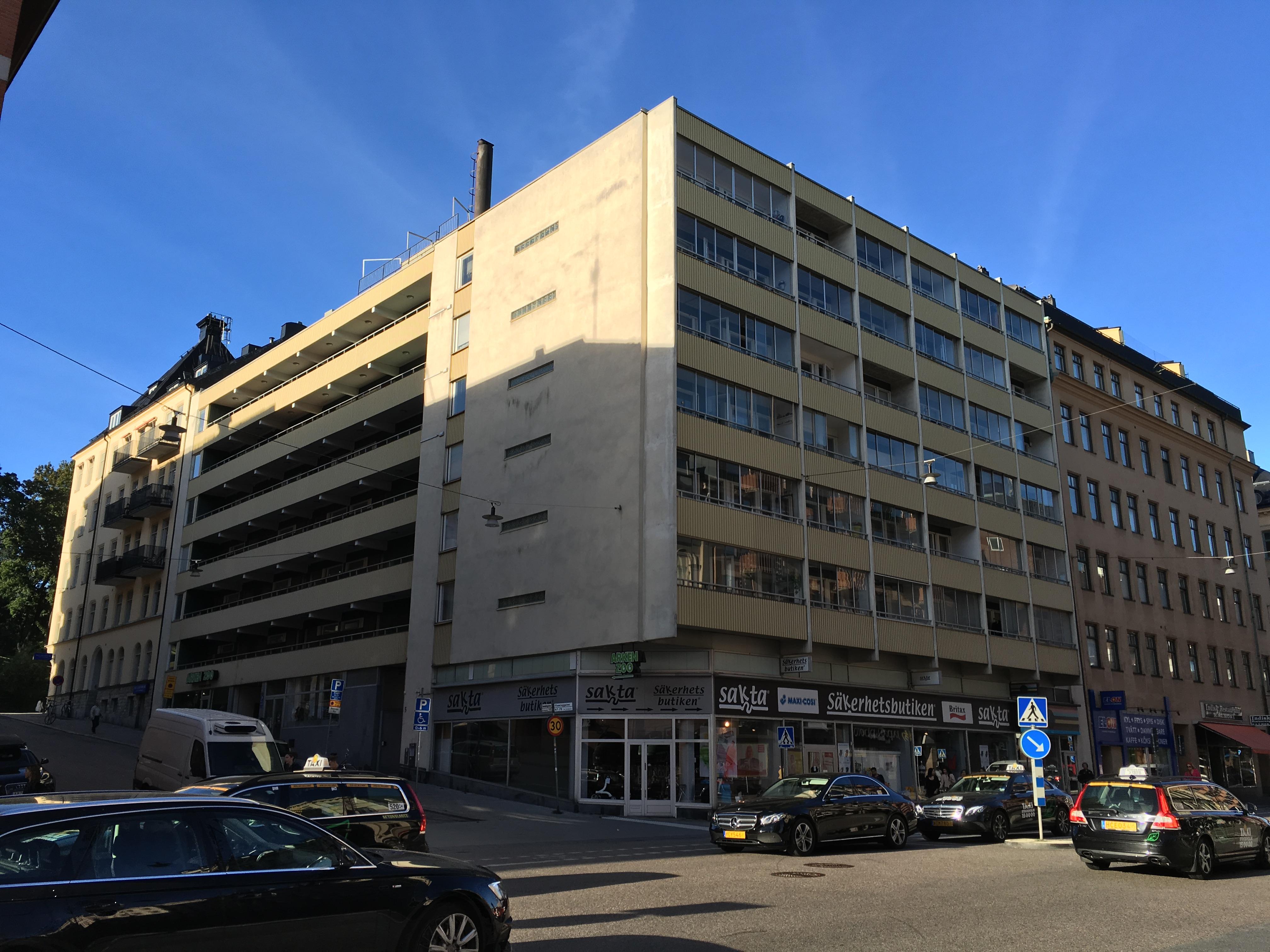 Stamspolning av brf med 66 lägenheter vid Kronobergsparken