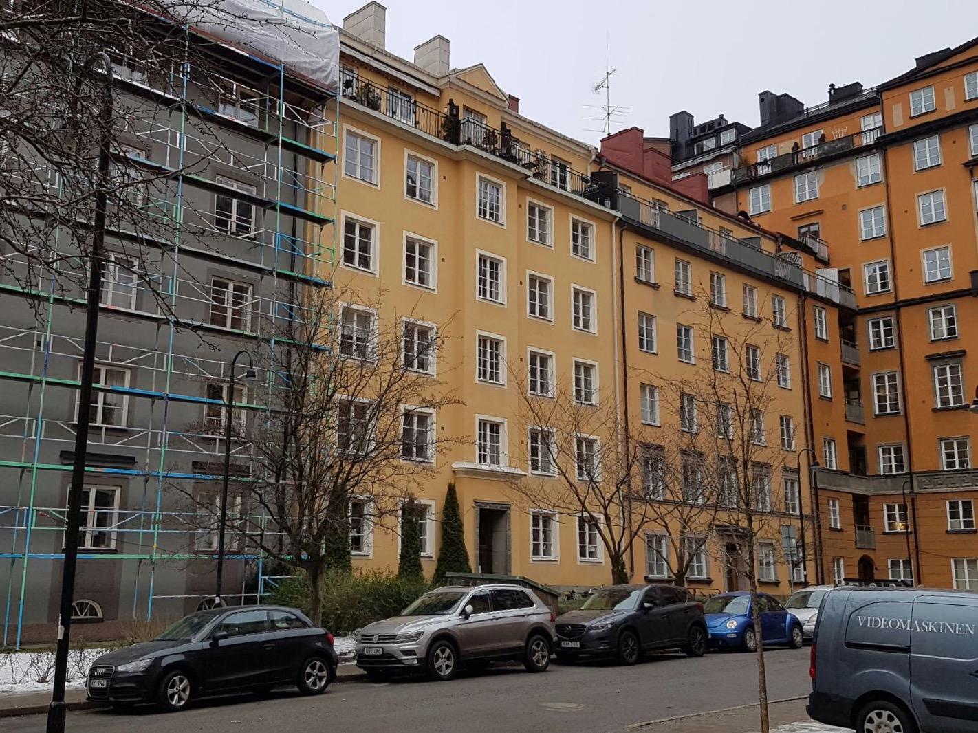 Stamspolning Stockholm brf med 29 lägenheter